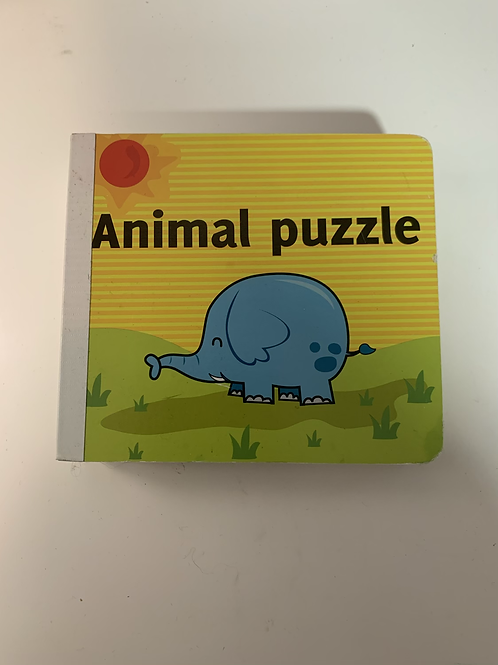 Animal Puzzle Book - Toddler