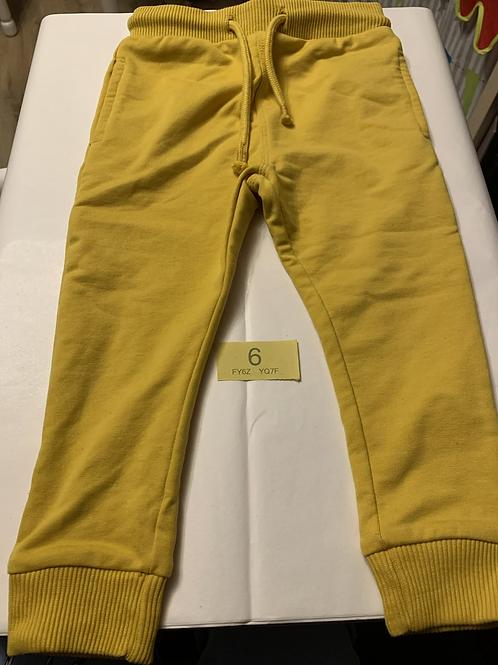 Mustard Yellow Jogging Bottoms - Y6