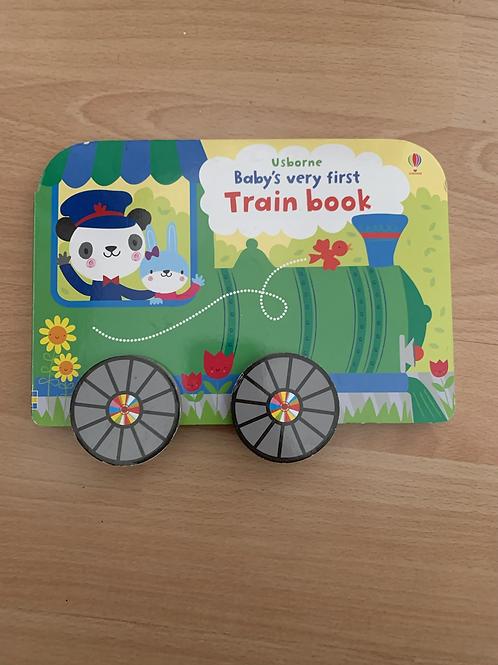 Usborne Baby's First Train Book