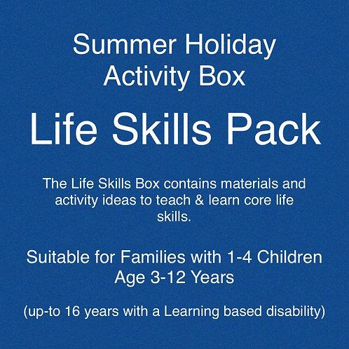 Life Skills Pack - Summer Holiday Activities