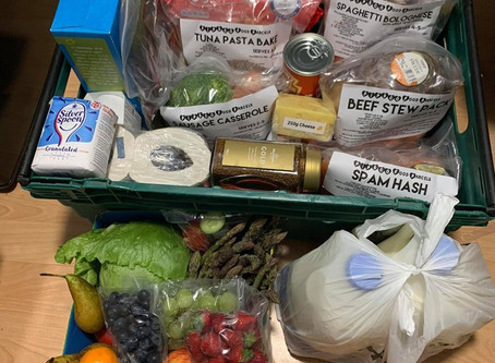 OUR FOOD PARCELS ARE SAVING LIVES!