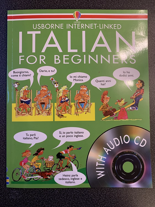Italian for Beginners with audio CD