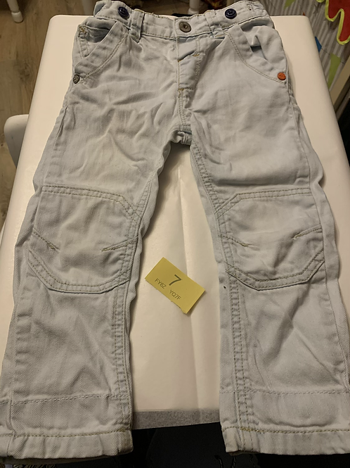Next Branded Light Colour Jeans - Y7
