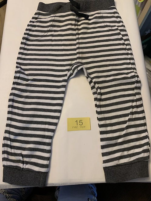 18-24m Striped Joggers - Y15