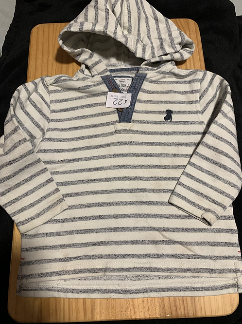 2-3 Years 100%Cotton Hooded Jumper/Top - W22