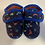 Thumbnail: Child Size 7 Dino Space Slippers Preloved