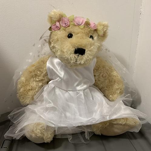 "16"" Holy Communion Bear - Ex Display"