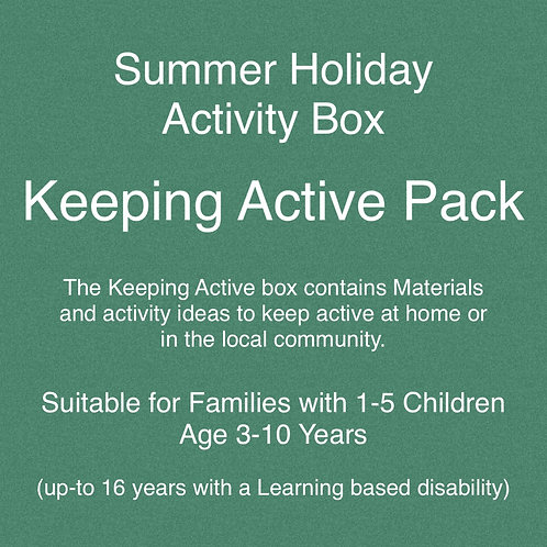 Keeping Active Pack - Summer Holiday Activities