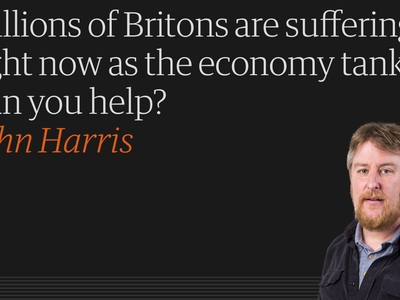 John Harris - Economy tanks, can you help.