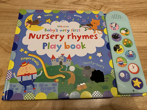 Usborne Baby's First NURSERY RHYMES Play Book