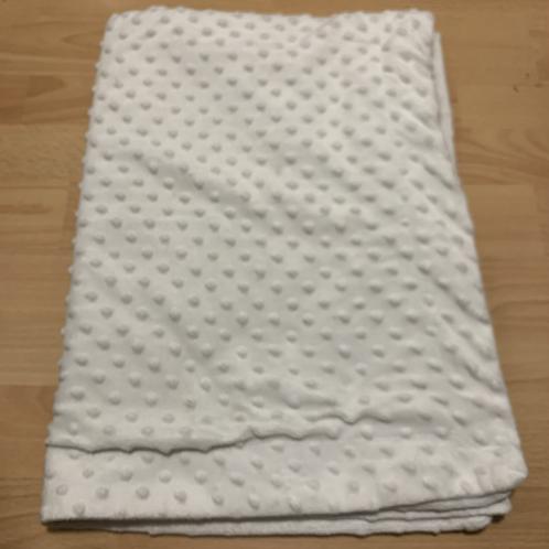 White Baby Sensory Blanket