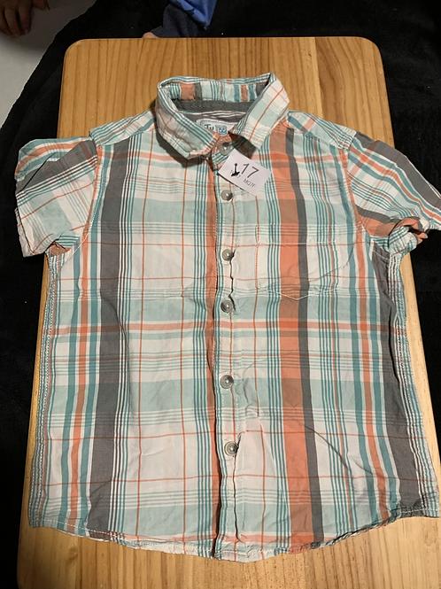 3-4 years Summer Shirt Short Sleeve - W17