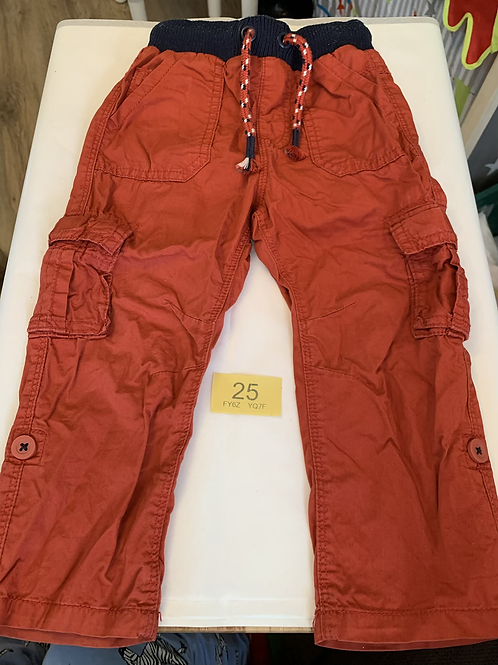 Rusty Coloured Combat Trousers - Y25