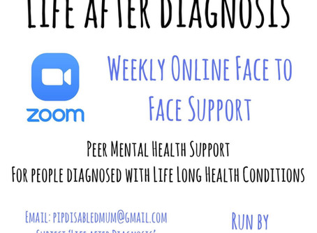 'Life after Diagnosis' Mental Health Support