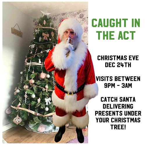 We CAUGHT Santa!