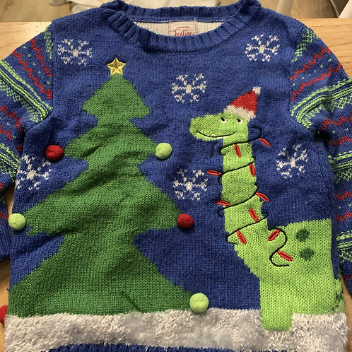 Christmas Dinosaur Jumper
