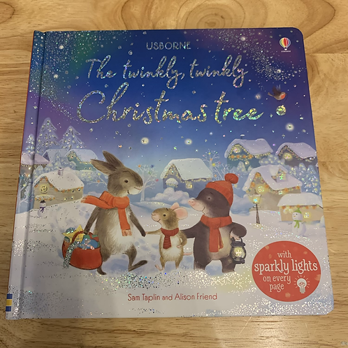 The Twinkly Twinkly Christmas Tree Book RRP £12.99