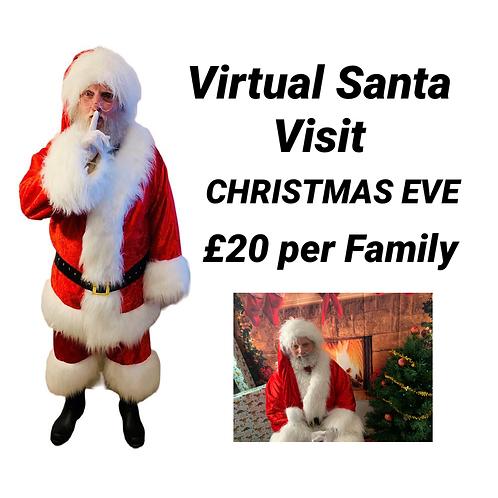 Virtual Bespoke Santa Visit! - Christmas Eve Afternoon