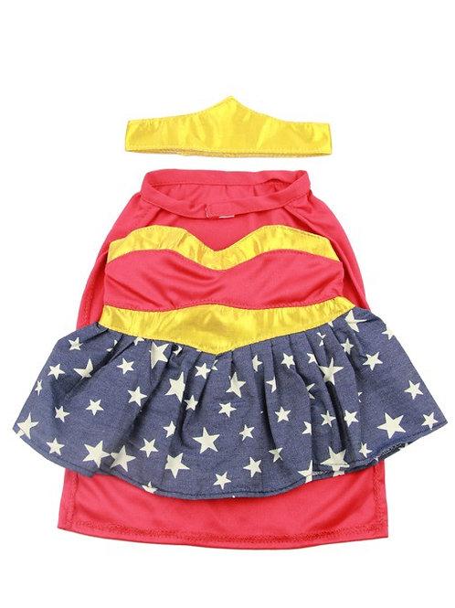 "Wonder Woman Bear Costume 16"""