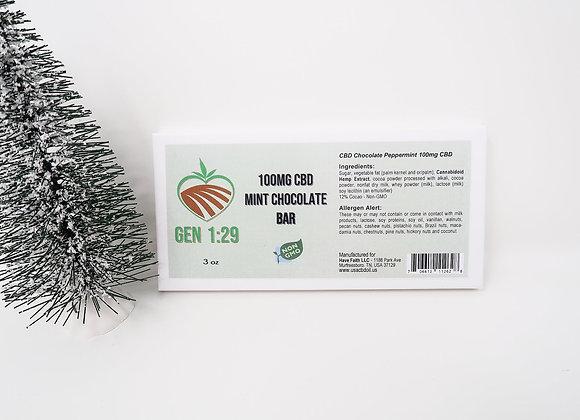 Dark Chocolate Mint 3oz - White Box