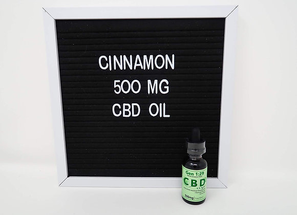30ml CINNAMON Full Spectrum <.3% THC