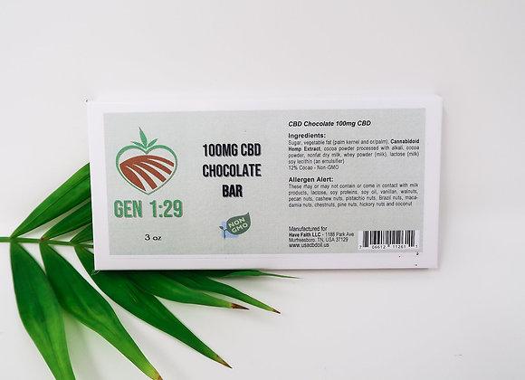 Dark Chocolate Natural 3oz - White Box