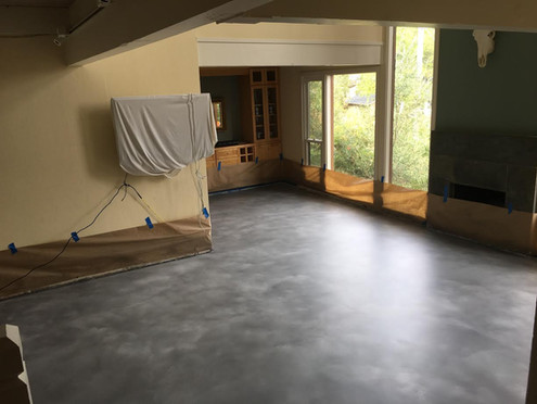 Stain Prepped To Be Sealed With Epoxy (CRU)