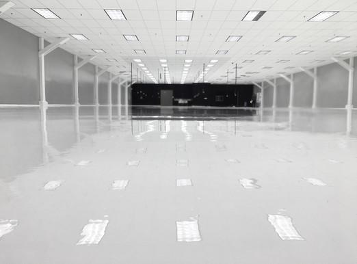 Solid White Epoxy Floor Coating