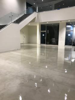 Concrete Floor Stain & Epoxy Sealer
