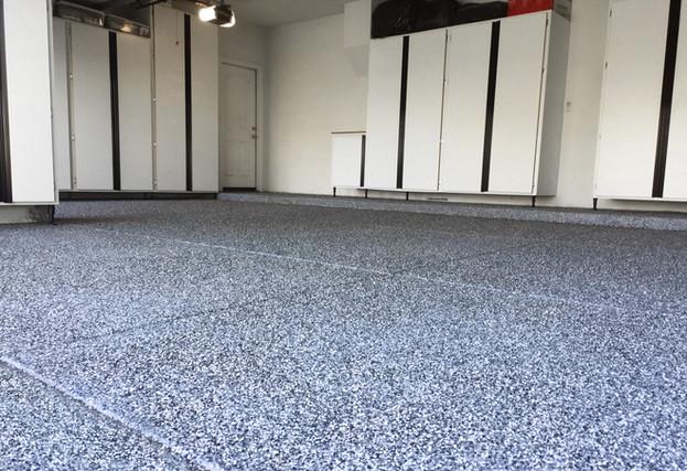 Paint Chip Garage Floor Epoxy Coating