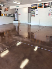 Grind, Stain, Seal with Polyurethane