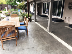 Decorative Stamped Cement Overlay