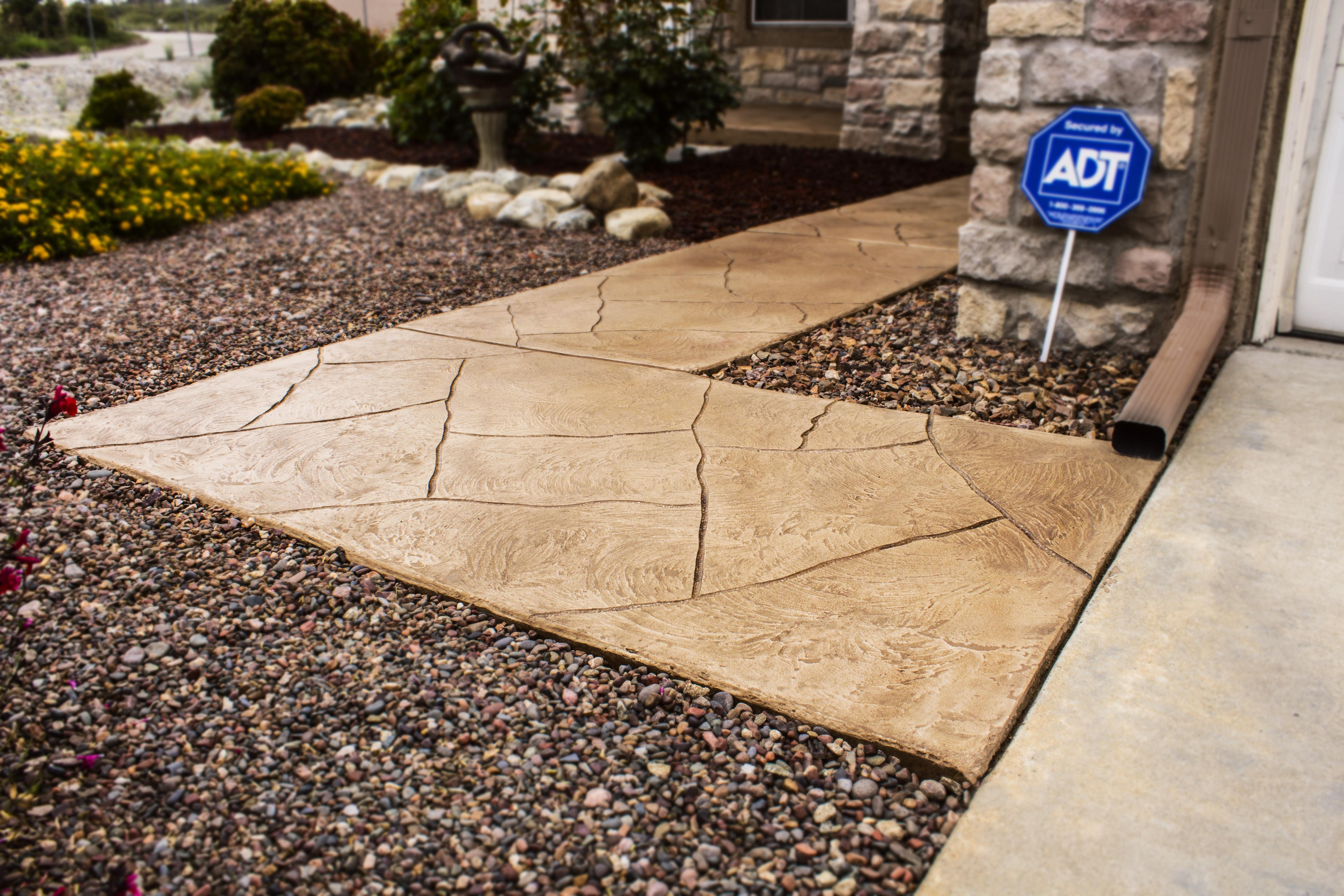 Texture Stain Walkway