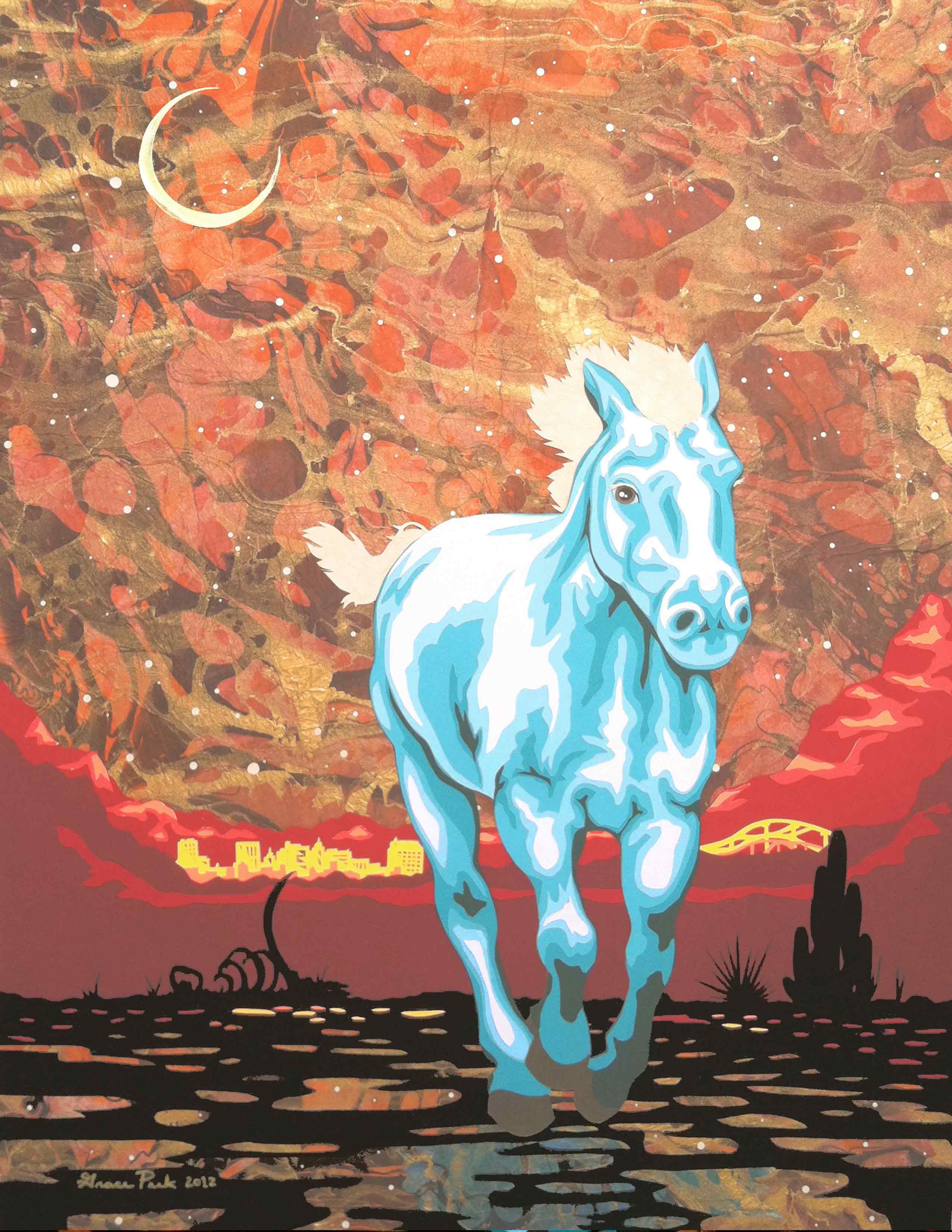 BLUE HORSE, EL PASO SKY