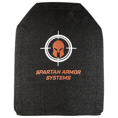 Spartan Level IV SAPI Cut Multi Curve Armor Plates- Set of 2