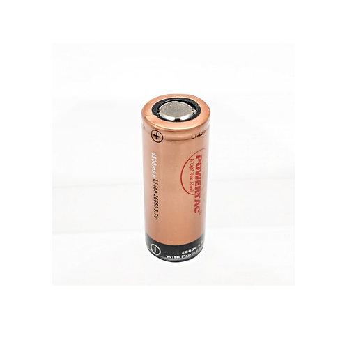 PowerTac 26650 Single Battery (Hero)