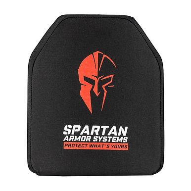 Spartan Level IV Multi Hit Rifle Ceramic Armor Plates- Set of 2