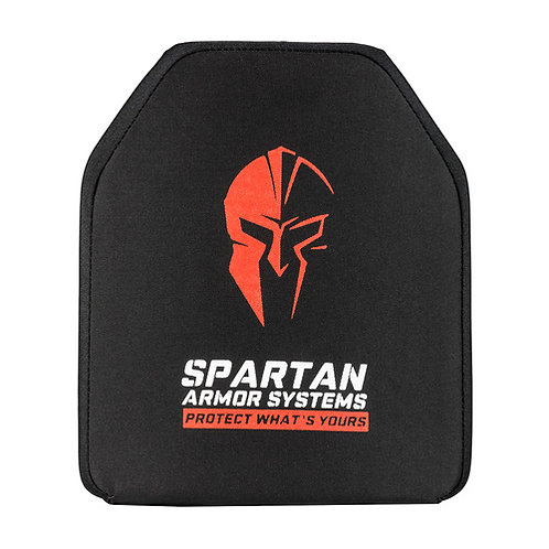 Spartan Level IV Multi Hit Rifle Ceramic Armor Plates- Set of 2