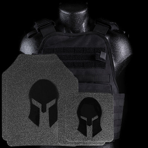 Spartan Condor MOPC Plate Carrier & AR550 Level III+ Body Armor Platform