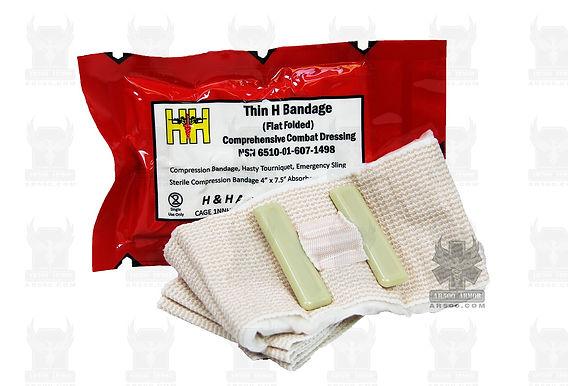 H&H Thin H Emergency Bandage (Flat Fold)