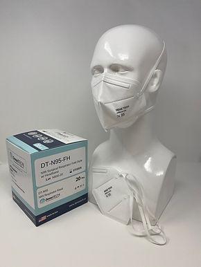 DemeTECH N95 Respirator FOLDED Style