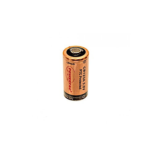 PowerTac CR123-T Single Battery