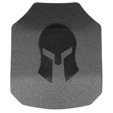Spartan AR550 8x10 Shooters Cut Body Armor Set Of 2