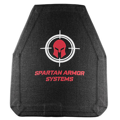 Spartan Level III+ 10x12 Body Armor Plates Set of 2