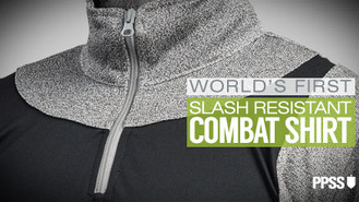 World's First Slash Resistant Combat Shirt