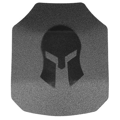 Spartan AR550 Shooters Cut 10x12 Body Armor Set Of Two