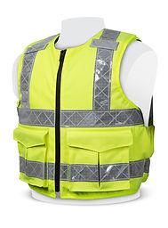3mm Hi-Viz Overt Stab Resistant Vest