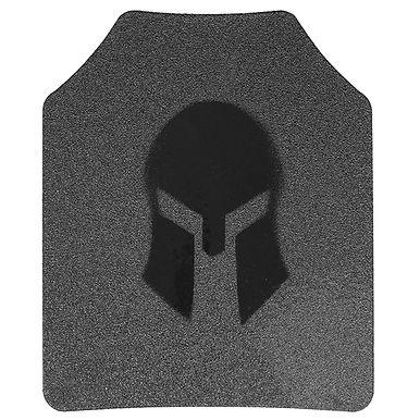 Spartan AR500 Omega 10x12 Shooters Cut Plates (Set of 2)