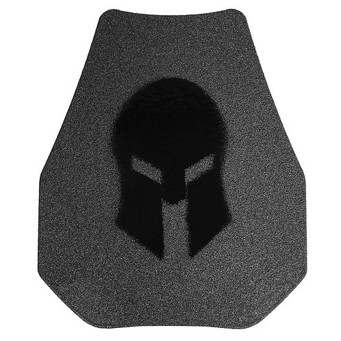 Spartan AR500 Omega 10x12 Swimmers Cut Plates (Set of 2)