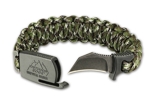 Para-Claw Knife Bracelet by Outdoor Edge - Camo